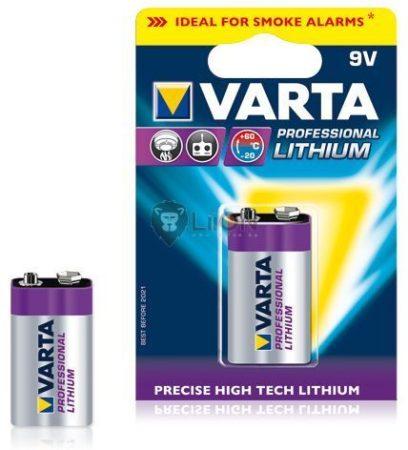 Varta Lithium Professional 9V elem