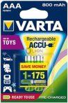 VARTA Ready 2 Use AAA 800 mAh micro akkumulátor 2 db-os