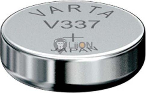 Varta 337 ezüst-oxid gombelem