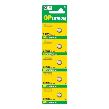 GP CR1025 gombelem