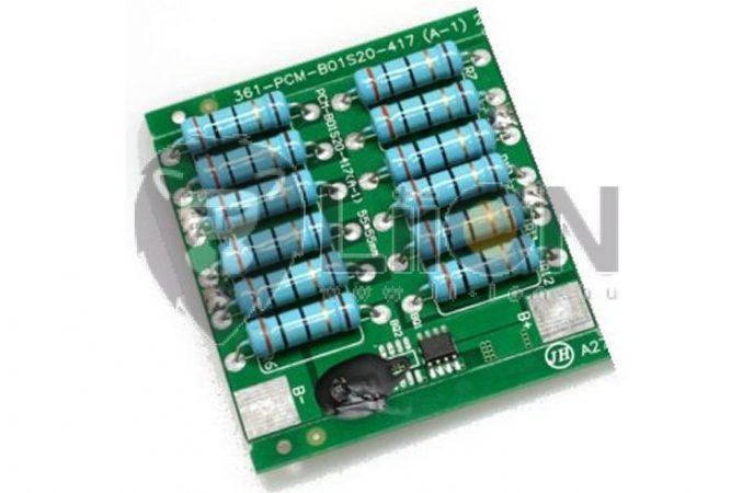 PCM - kiegyenlítő elektronika LiFePO4