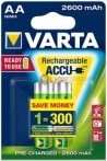 VARTA Ready 2 Use AA 2600 mAh ceruza akku 2db-os