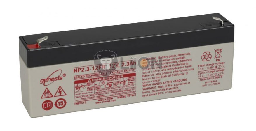Genesis NP battery 12V 2,3Ah