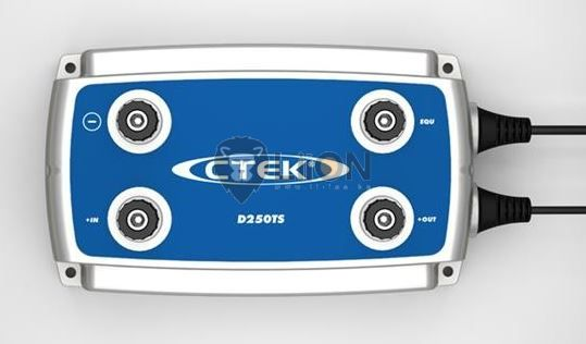 CTEK D250TS akkumulátor töltő 24V/10A 56-740