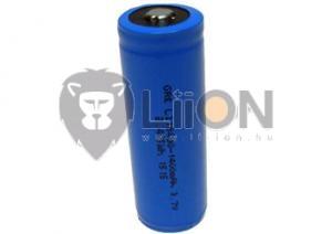 Li-Ion-ICR 18500 3,7 V 1400mAh industrielle Batteriezelle