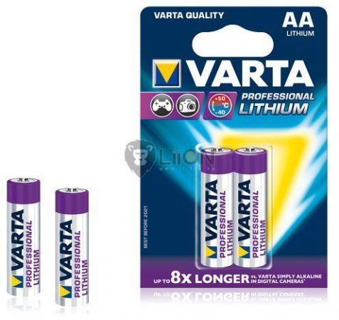 Varta Lithium AA elem 2db-os