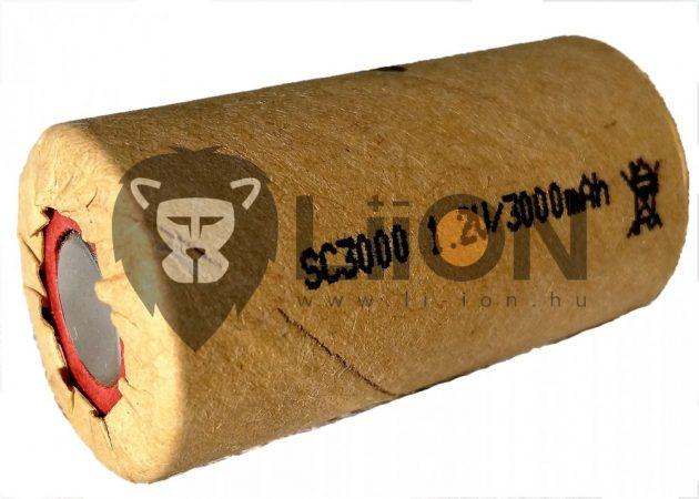 Ni-Mh 1,2 V 3300mAh SC Batteriezelle