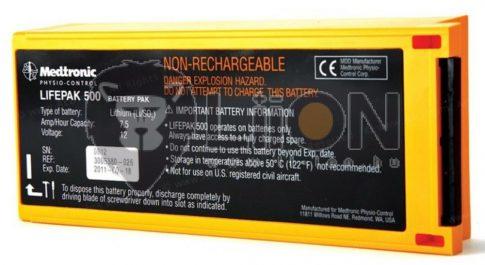 Medtronic Physio-Control Lifepak 500 defibrillátor akkumulátor