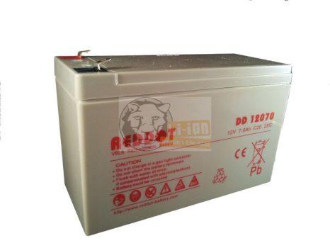 Reddot 12V 7Ah T2 ólom zselés akkumulátor