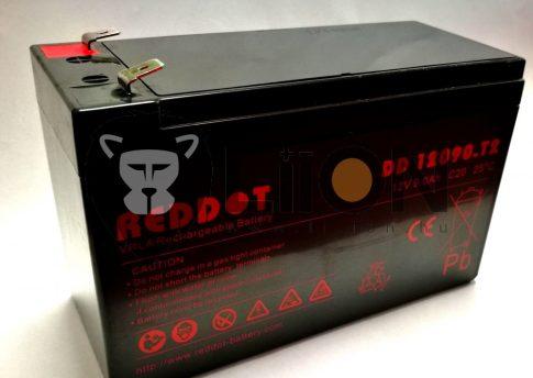 Reddot 12V 9Ah ólom zselés akkumulátor T2