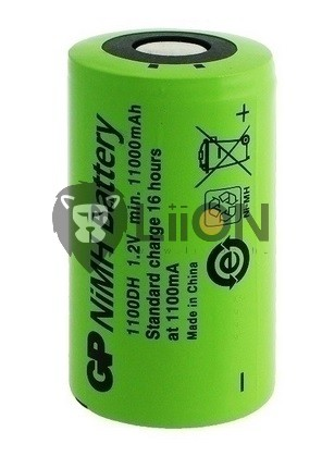 Ni-Mh battery cell D 9000