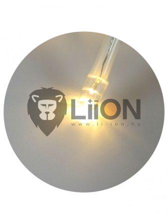 Trixline karácsonyi fényfüzér 20 LED meleg fehér fény 2700K 2,4m (TR301)