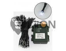 Trixline karácsonyi fényfüzér 100 LED természetes fehér fény 6500K 1080cm (TR305)
