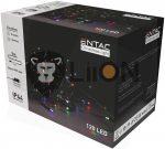 ECL-120-MC Entac Karácsonyi 120 LED Füzér Színes 9m