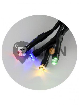 Trixline karácsonyi fényfüzér 100 LED több színű 1080cm (TR306)