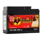 Banner GTR4A-5 Gel Motorkerékpár Akkumulátor 50301