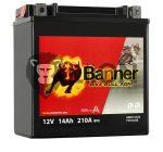 Banner YTX16-BS Bike Bull AGM Motorkerékpár Akkumulátor 51422