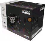 ECL-180-MC Entac Karácsonyi 180 LED Füzér Színes 14m