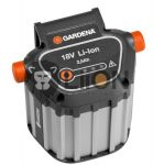 Gardena 9839-20 18V li-ion akkumulátor felújítása