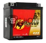 Banner GT30-3 Gel Motorkerékpár Akkumulátor 53001