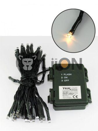 Trixline karácsonyi fényfüzér 50 LED meleg fehér fény 2700K 540cm (TR303)