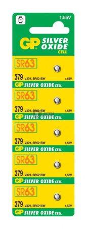 GP SR63 ezüst-oxid gombelem