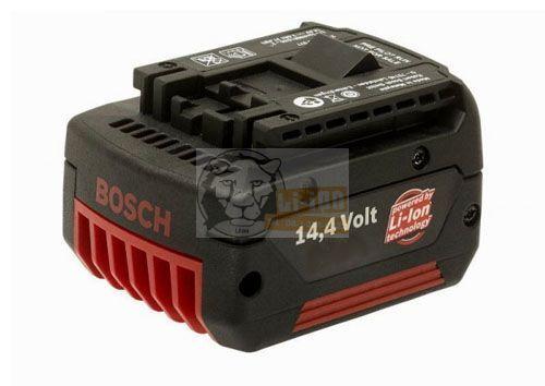 BOSCH BAT607 BAT614 GSR 14.4 V-LI 25614 szerszámgéphez 14,4V li-ion 4Ah akku