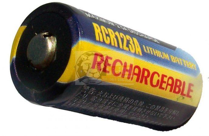 LiFePO4 16340 3,2V 500mAh battery cell