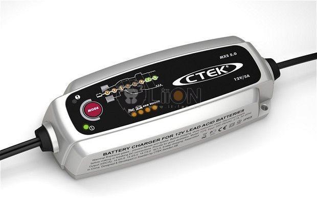 CTEK MXS 5.0 akkumulátor felújító töltő