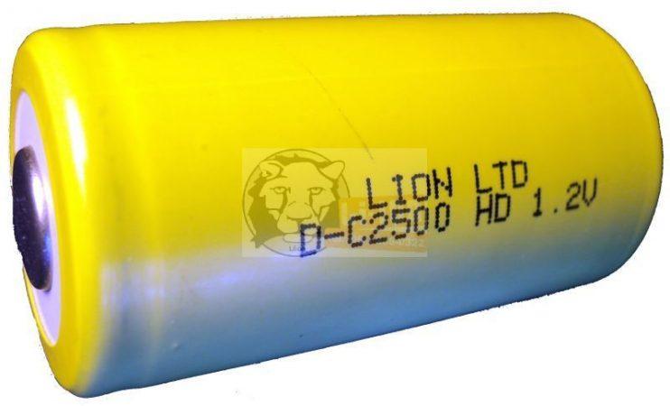 LION C2500 akku ni-cd