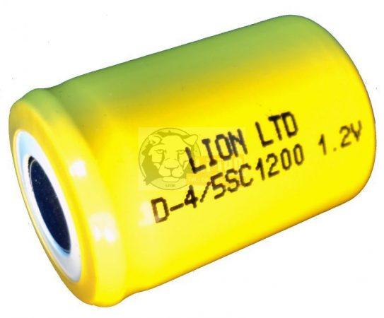 LION 4/5 SC 1200 akku ni-cd
