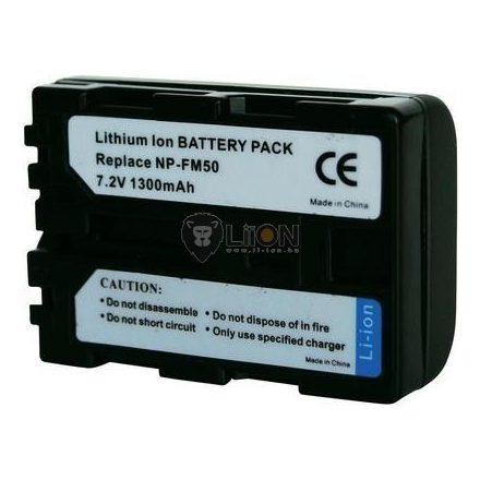 NP-FM50 akku Sony kamerához