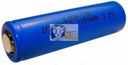 LiFePO4 IFR 18650 3,3V 1500mAh akku