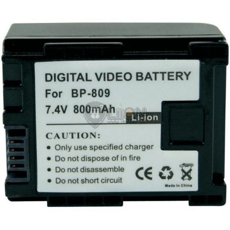 Replacement Camcorder Battery for CANON BP-809