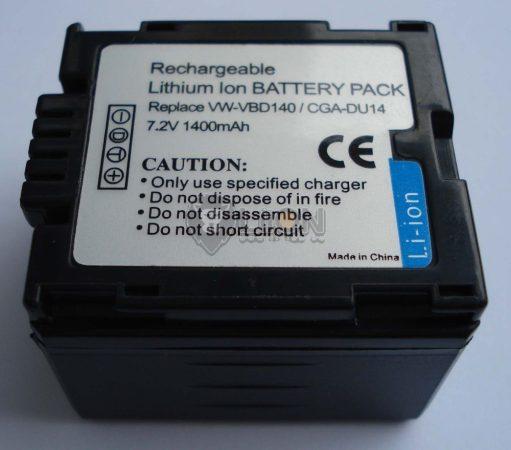 Panasonic CGA-DU14 utángyártott kamera akku