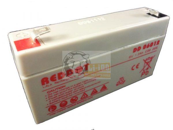 Reddot 6V 12Ah ólom zselés akkumulátor