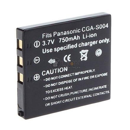 Panasonic CGA-S004 utángyártott kamera akku