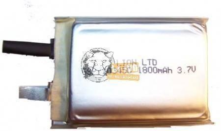 Li-polymer 103450 3,7V 1800mAh akku