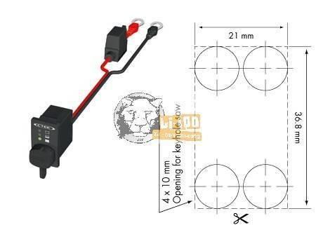 CTEK Comfort Indicator Panel 56-380