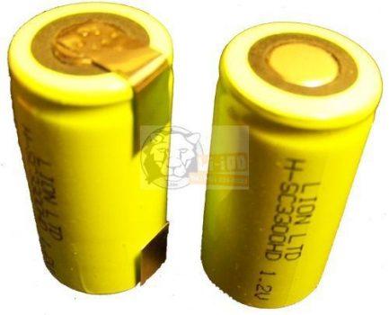 Hozott Ni-mh akkumulátorra forrasztófül készítés