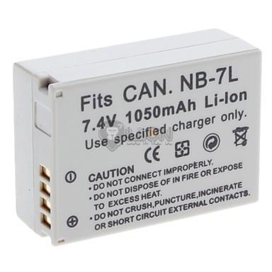 NB-7L akku Canon kamerához