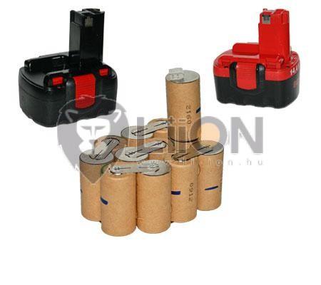 Bosch GLI 14,4V 2000mAh lámpa akku - felújítás