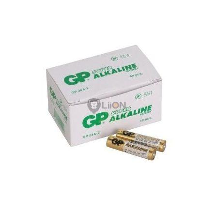 GP Super alkáli AAA elem fóliás 24A