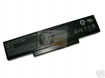MSI M655 utángyártott notebook akku
