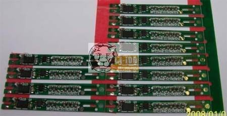 PCB - védelmi elektronika 7,2V 2A (li-ion , li-polymer)