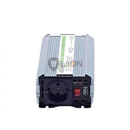 Inverter 12V-220V 800W USB csatlakozás