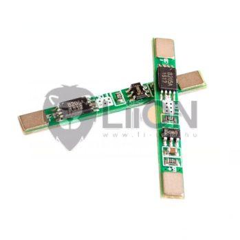 PCM - védelmi elektronika 3,6V 2A (li-ion , li-polymer)
