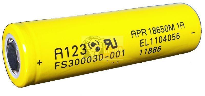 LiFePO4 APR 18650 3,3V 1100mAh akku
