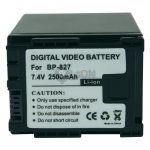 Replacement Camcorder Battery for  Canon BP-829