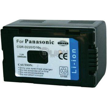 Panasonic CGR-D220 utángyártott kamera akku